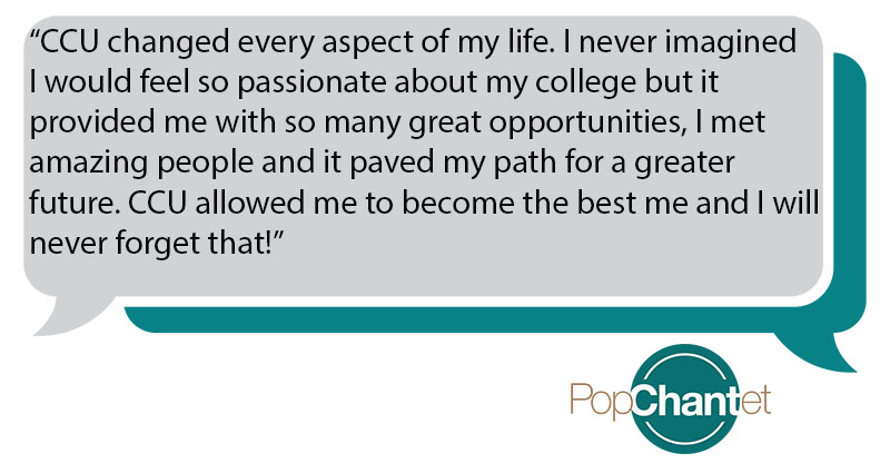 Bethany graduated from #CCU in 2017.
