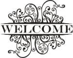 "The picture is saying ""Welcome"""