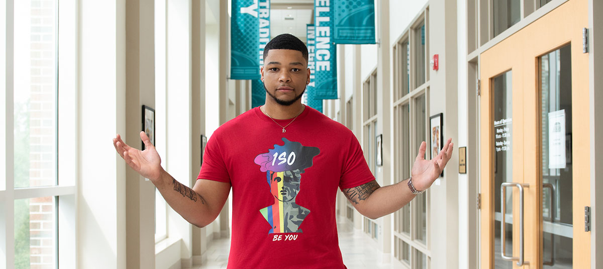CCU student inspired by other students to create clothing line and brand