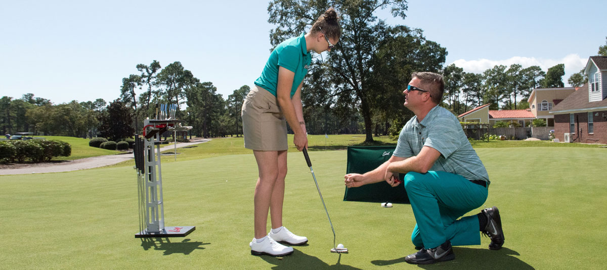 CCU PGM program and Hackler Golf Course prepare students for big-time careers on and off the green