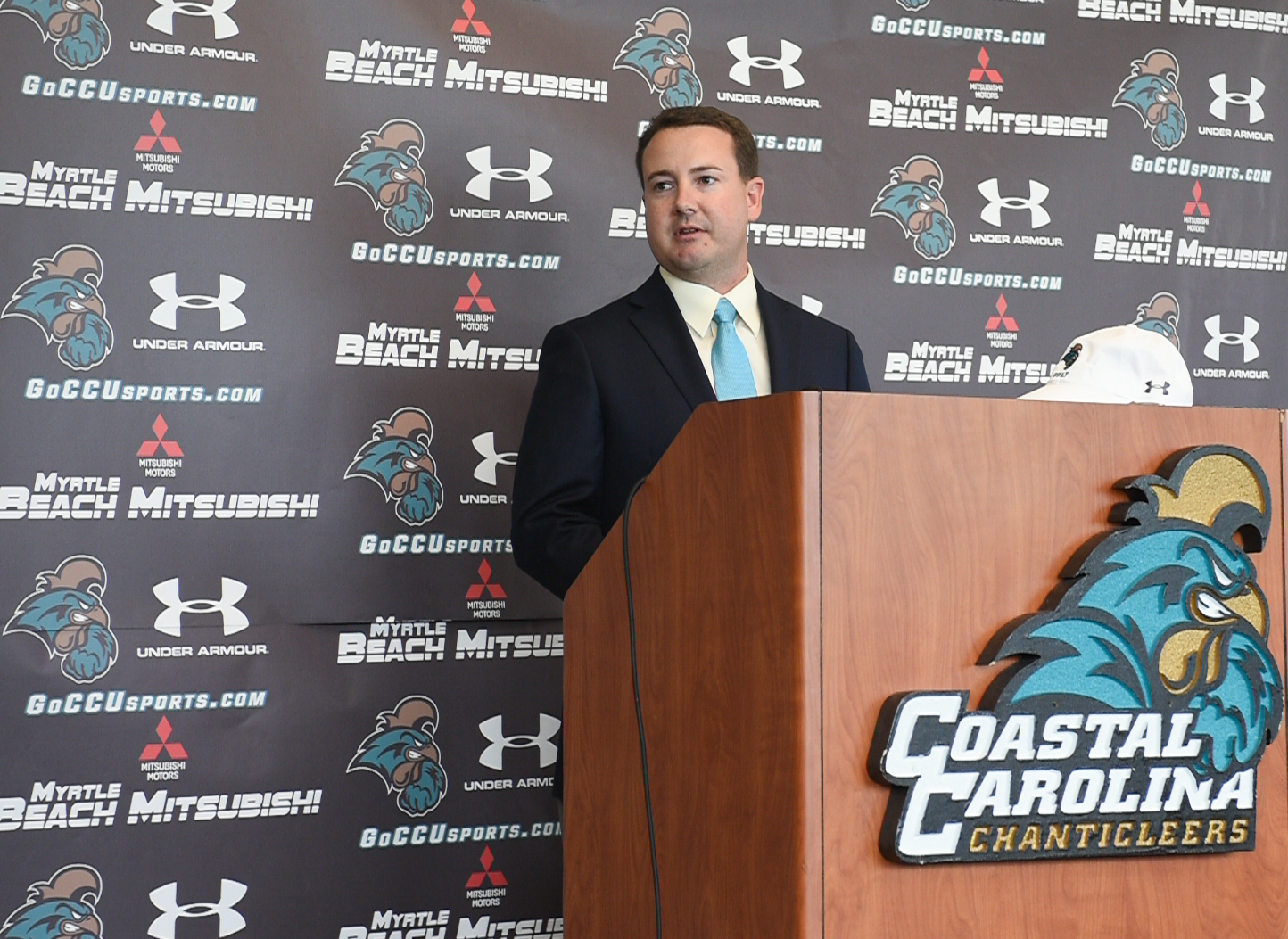 Jim Garren, head coach of the CCU men's golf team.